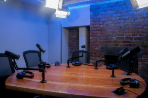 NYC Podcasting Studio A | NYC Podcasting : Rent a podcast studio in NYC